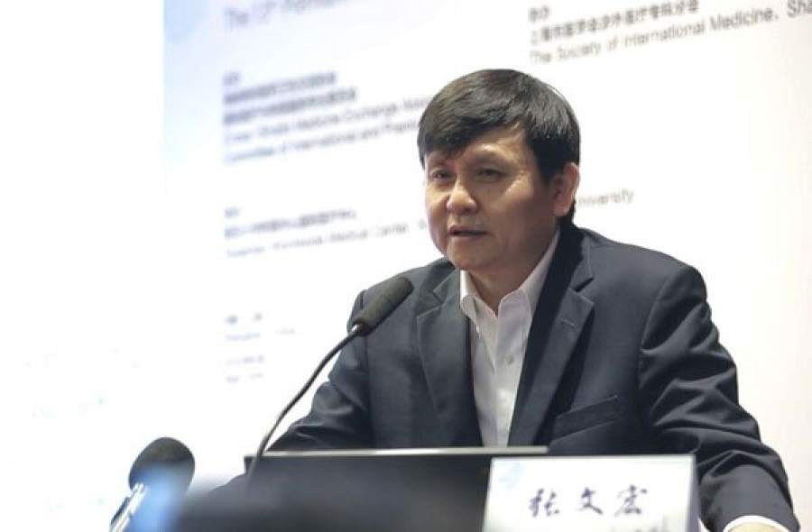 Dr Zhang Wenhong, China's top infectious diseases expert and head of the Center for Infectious Disease at Huashan Hospital. (Internet)