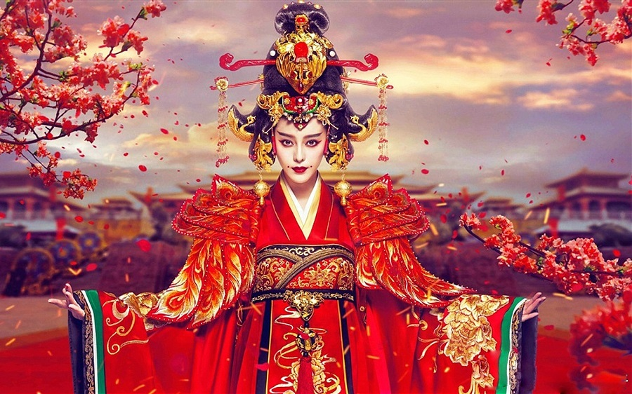 Television series The Empress of China starring Fan Bingbing as Wu Zetian. (Internet)