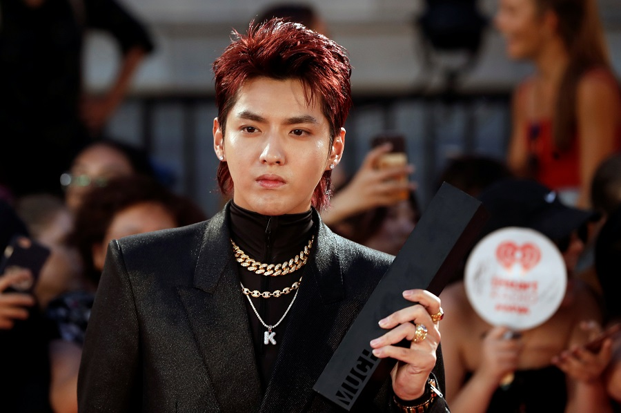 Kris Wu arrives at the iHeartRadio Much Music Video Awards (MMVA) in Toronto, Ontario, Canada, 26 August 2018. (Mark Blinch/File Photo/Reuters)