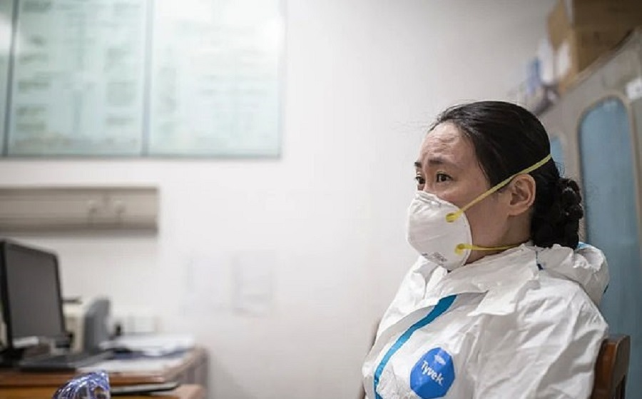 Ai Fen, director of The Central Hospital of Wuhan's emergency department. (Weibo)