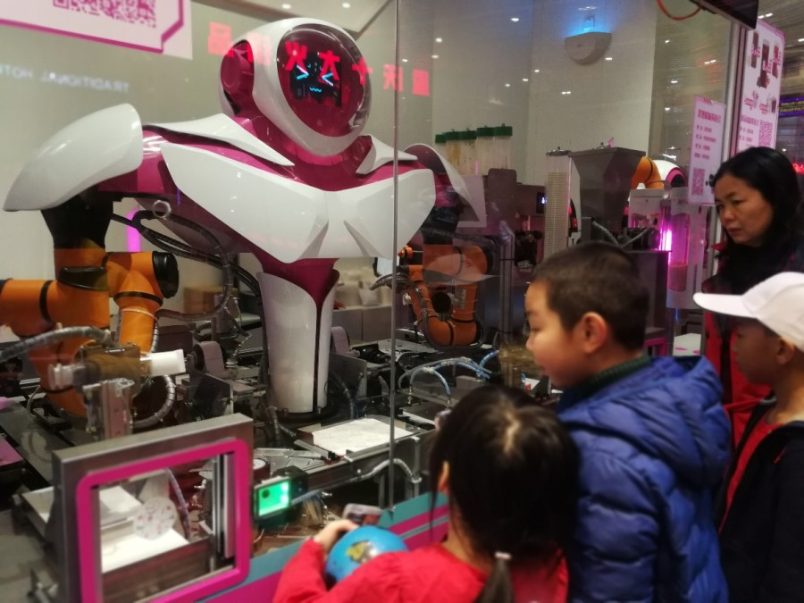 Foodom restaurant is a new concept restaurant that runs with 46 robots.