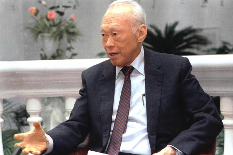 Mr Lee Kuan Yew left behind many incisive comments about China and the US. (SPH)