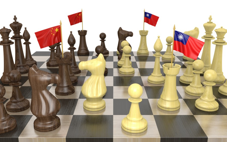 Taiwan and mainland China will have to navigate cross-strait relations in 2020. (iStock)