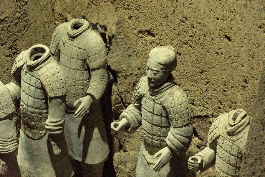 Qin Shi Huang's Terracotta Army, built to protect the emperor in his afterlife. (iStock)