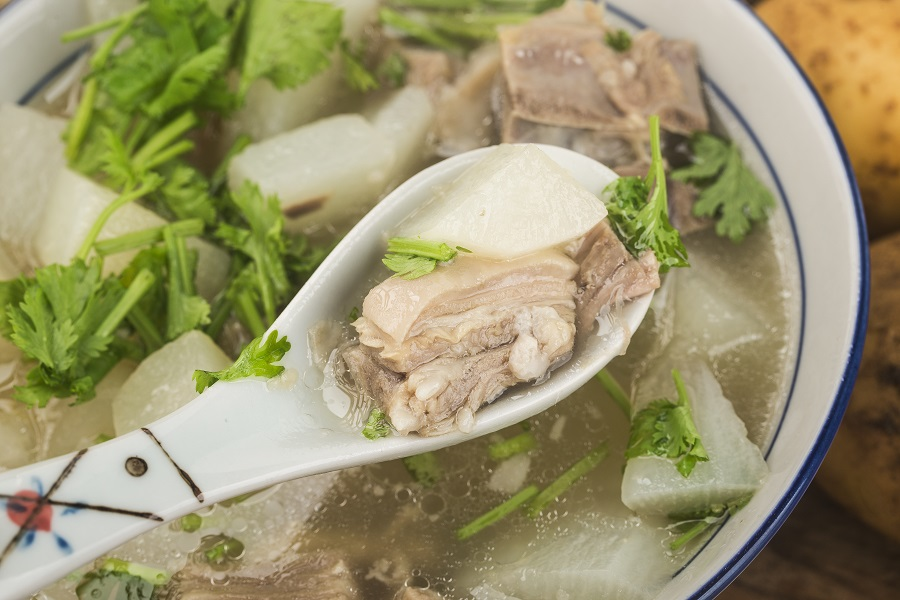 Winter warmers: A bowl of rich mutton soup. (iStock)