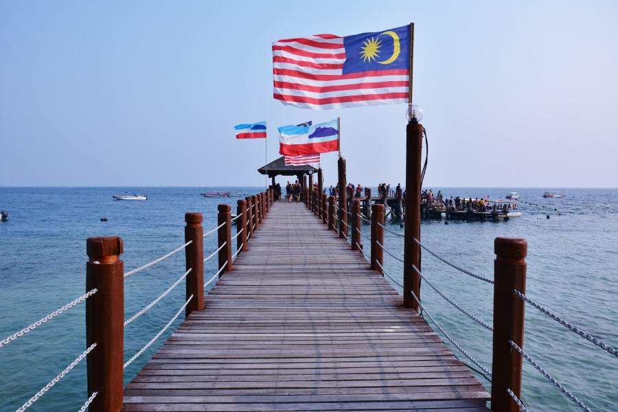 A jetty in Sabah, Borneo. Malaysia has claims in the South China Sea against China as well as other SEA countries. (iStock)