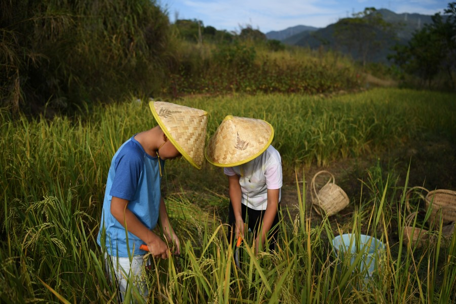 China's goal is to eradicate poverty within 2020, including rural areas. (Tingshu Wang/REUTERS)