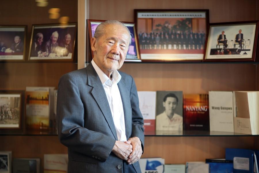 Professor Wang Gungwu. (SPH)