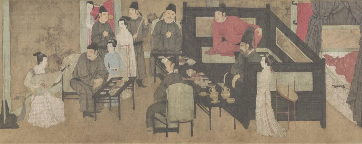 Night Revels of Han Xizai《韩熙载夜宴图》