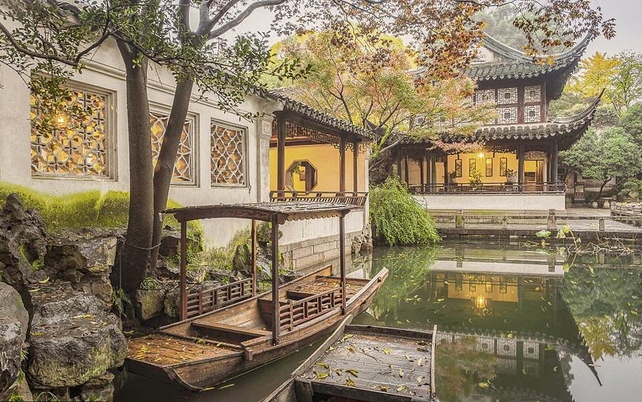 "The Humble Administrator's Garden, a UNESCO-listed ""Classical Gardens of Suzhou"". (Humble Administrator's Garden official website)"