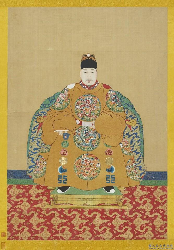 Portrait of Wanli Emperor. (Internet)