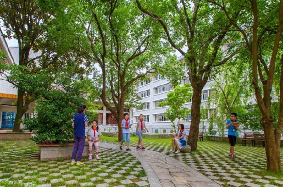 My elementary school, Shenjiamen Elementary School. (Shenjiamen Elementary School)