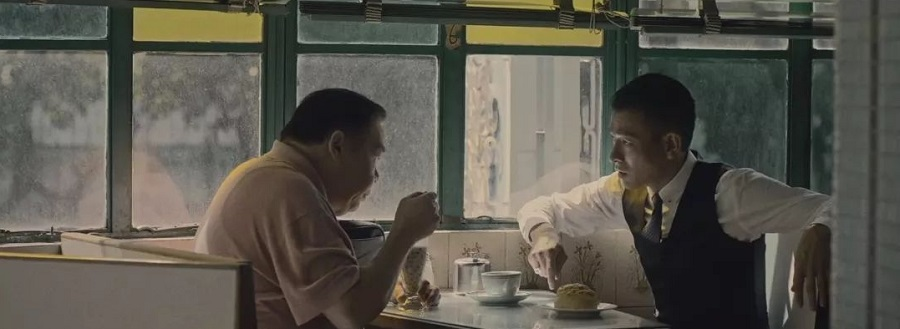 An iconic scene set in Mido Cafe in the movie, Chasing the Dragon (2017). (Internet)