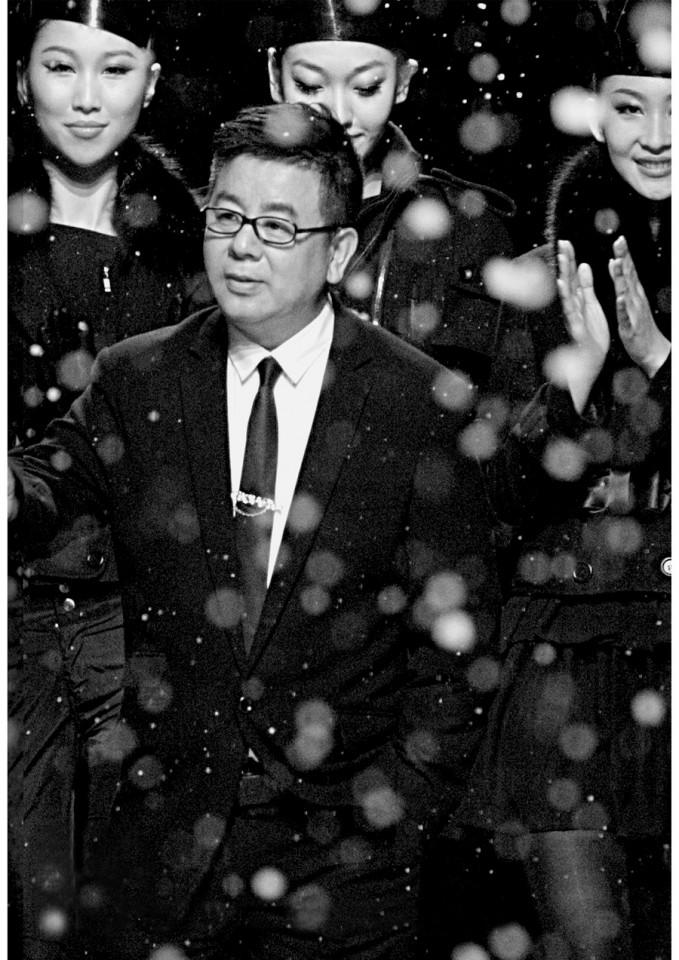 Chinese fashion designer Ji Wenbo.