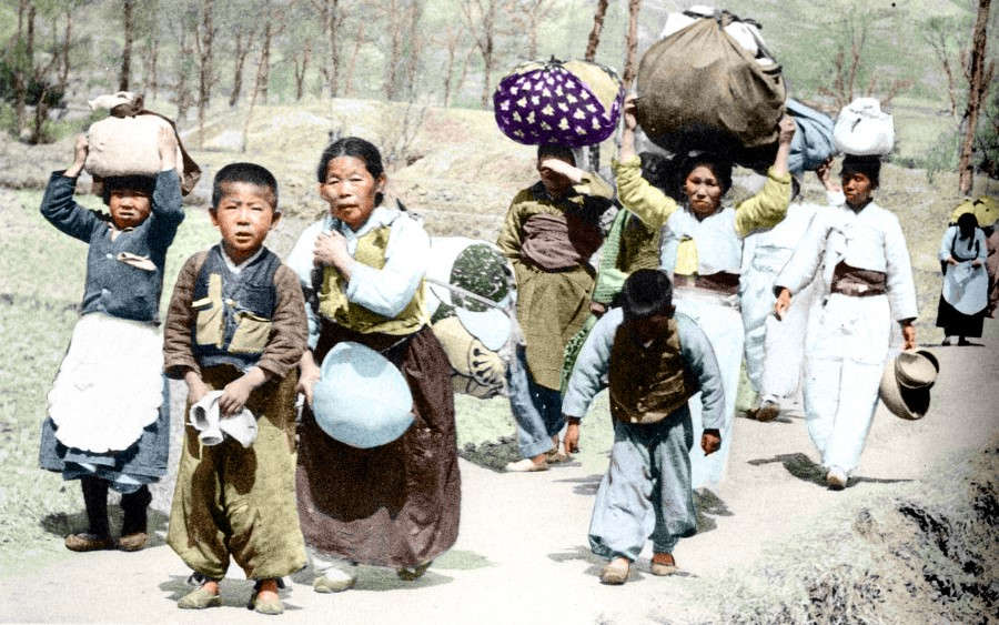 korean civilians