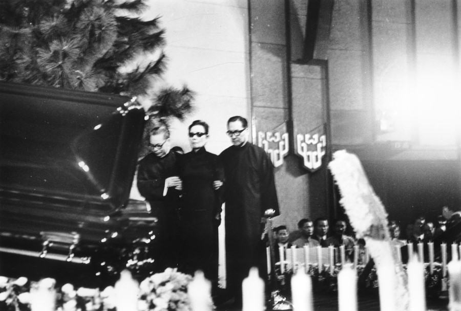 chiang funeral