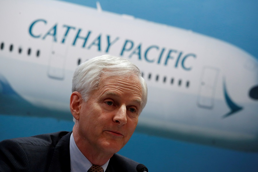 John Slosar, former Cathay Pacific chairman was one of the Cathay Pacific executives who stepped down recently.