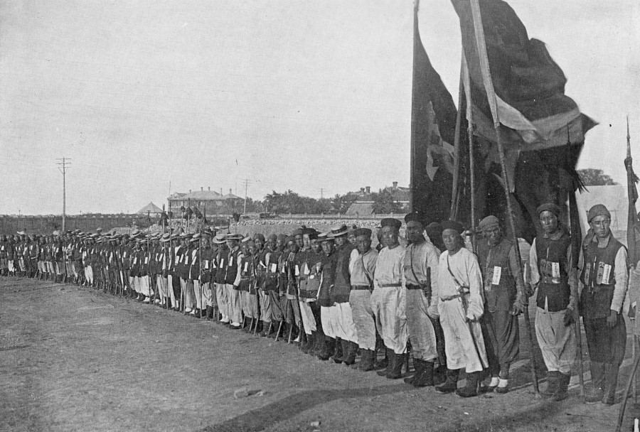 qing soldiers
