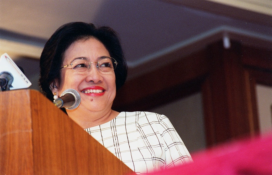 Megawati Sukarnoputri, founder and general chairwoman of the Indonesian Democratic Party of Struggle. (SPH)