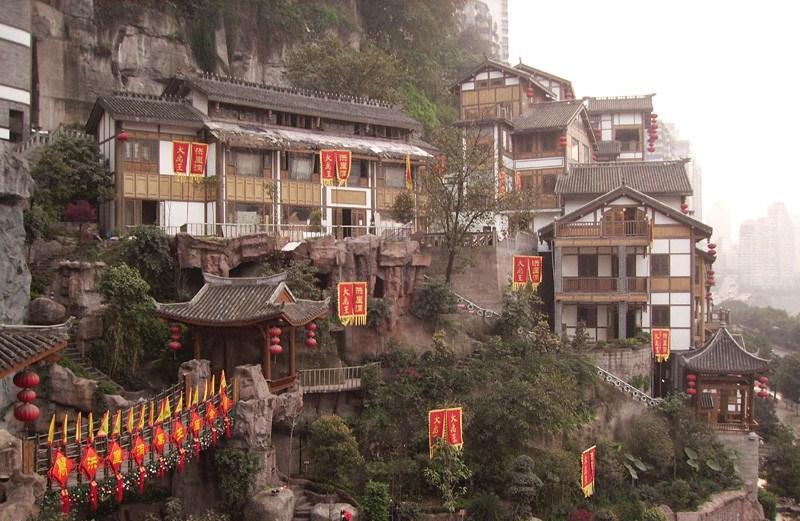 Chongqing's Hongyadong. (New Shan Travel)