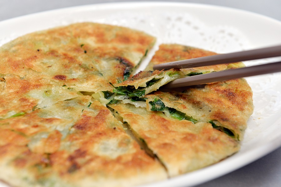 Scallion pancakes. (SPH)
