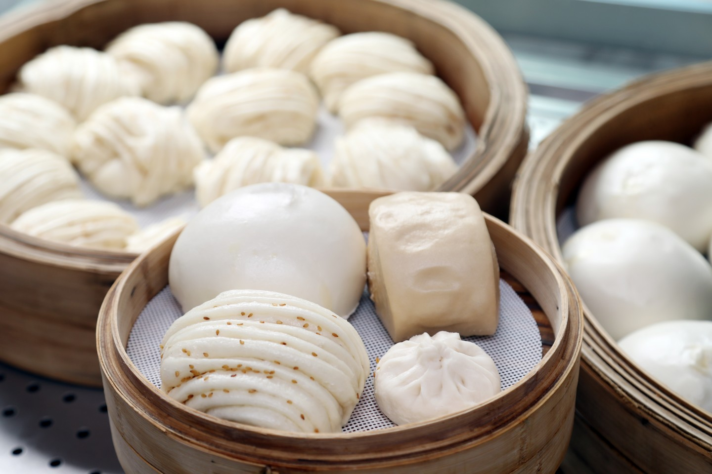 Mantou, the one dish that my father would look forward to on New Year's Eve. (SPH)