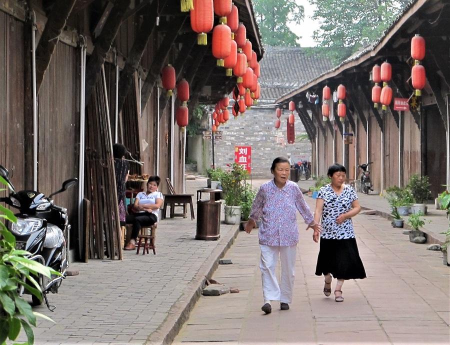 Anren Town in Western Sichuan, 2017.