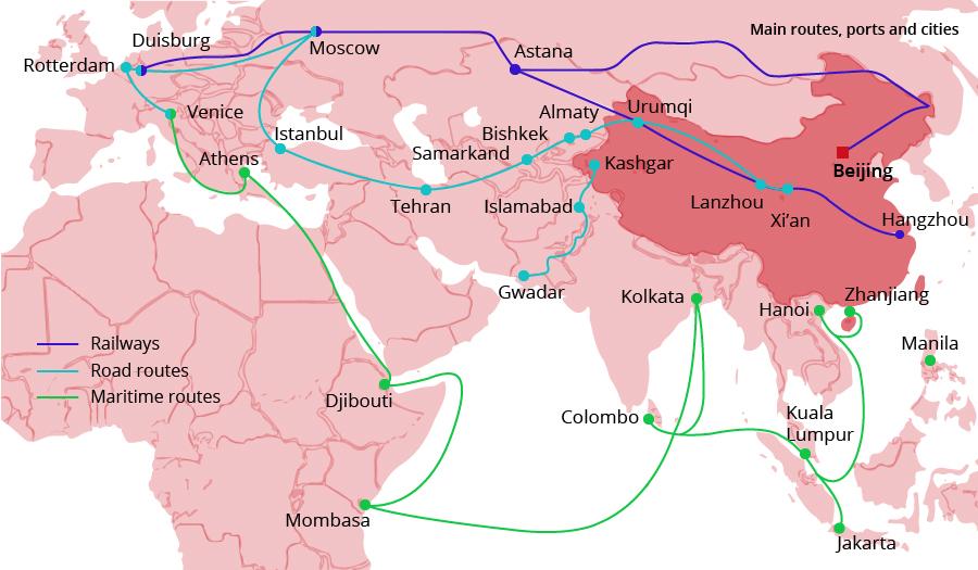 BRI map
