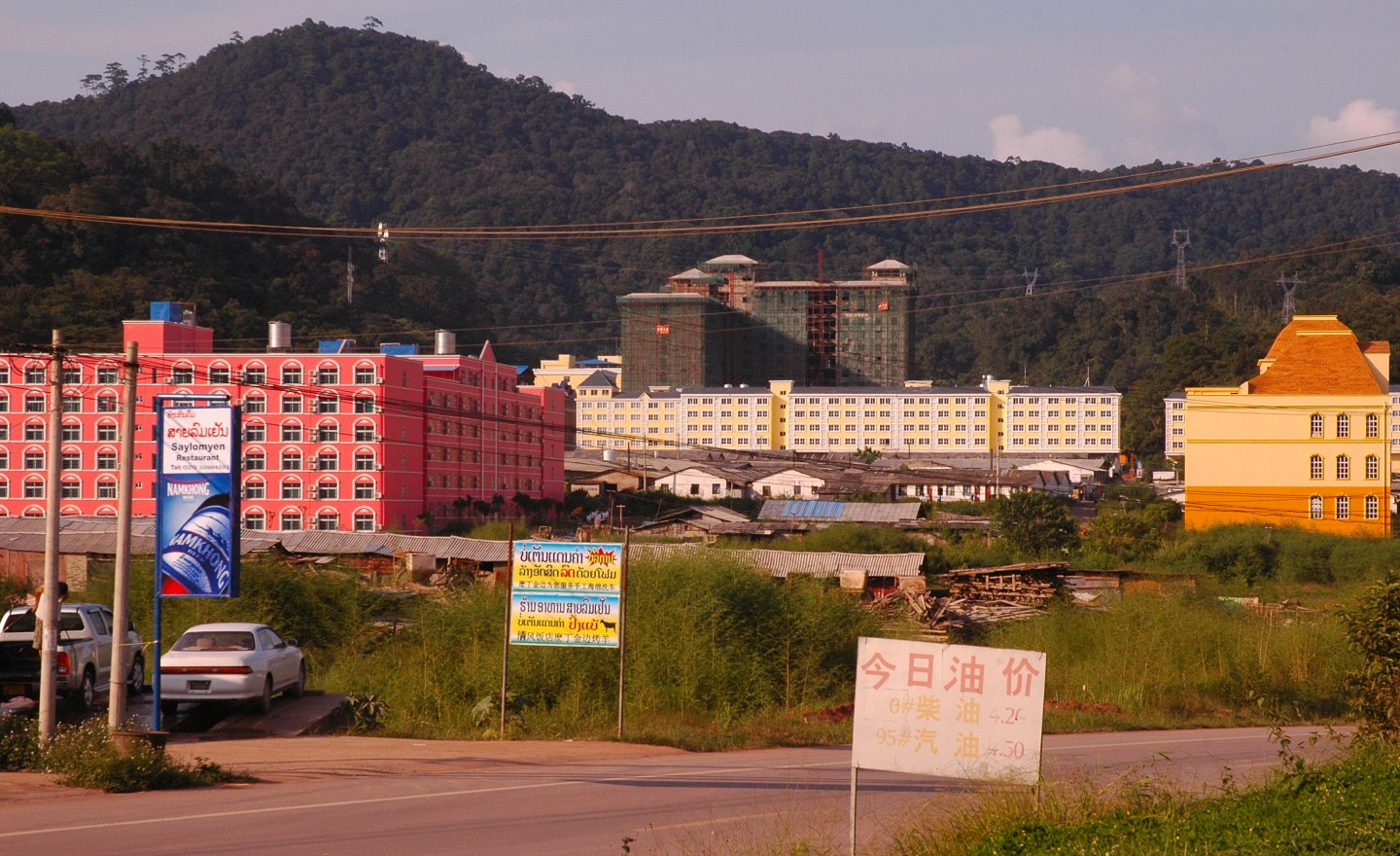 Beijing's influence is apparent in Boten, which connects China to Asean. In Boten, a Special Economic Zone has been leased from the Laotian government by Hong Kong-based Boten Golden Land. (SPH)