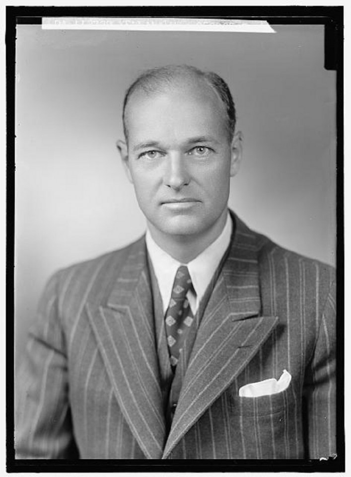 George F. Kennan portrait. (Library of Congress Prints and Photographs Division website)