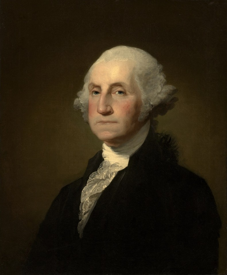 Gilbert Stuart, George Washington, The Clark. (Internet)