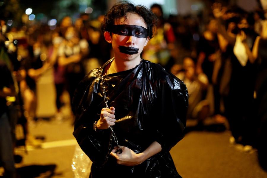 HK protest tag