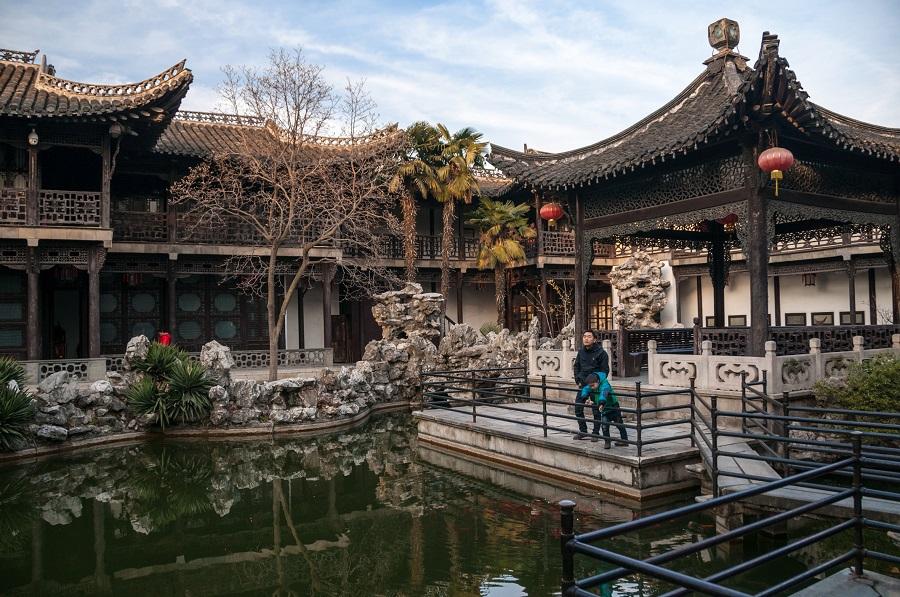 He Garden (何园) in Yangzhou. (Photo: Mark Andrews)