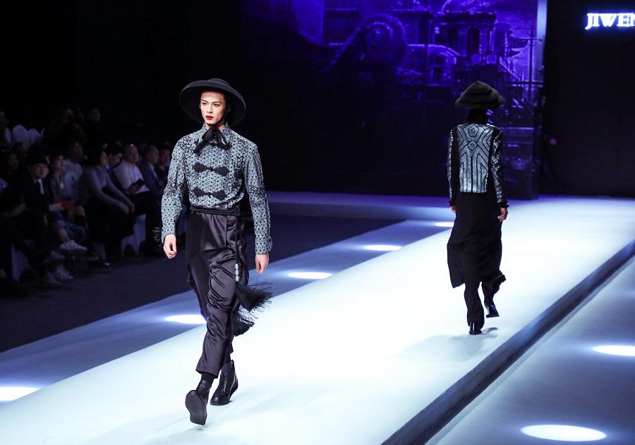 Ji Wenbo Showcase, China International Fashion Week, 2018.