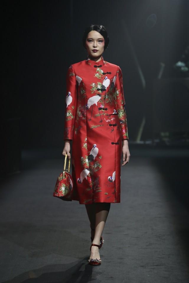 Ji Wenbo Showcase, Xiamen International Fashion Week, 2017.