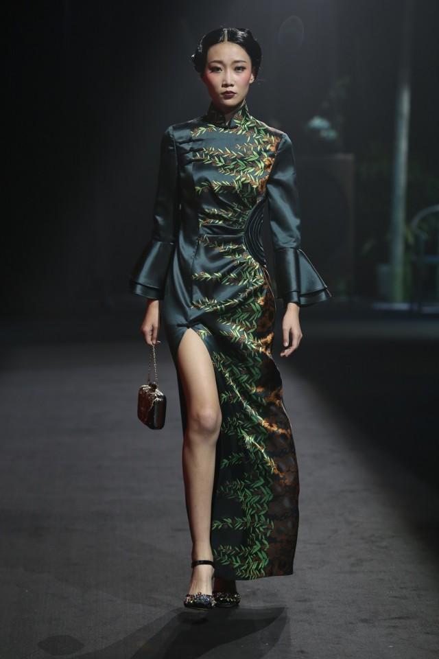 Ji Wenbo Showcase, Xiamen International Fashion Week, Cultural Festival, 2017.