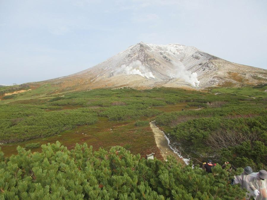 Steam vents at Asahidake, Hokkaido's highest mountain. (SPH)