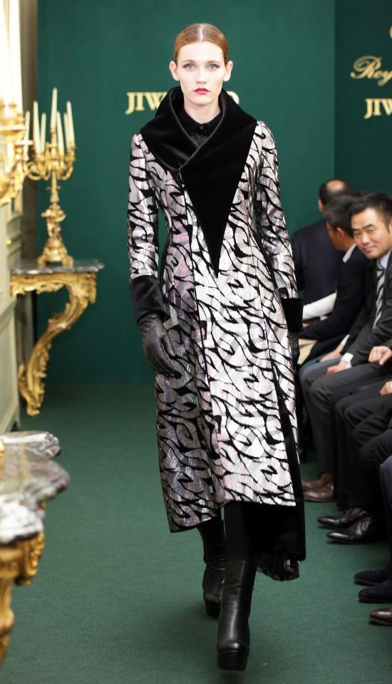 Ji Wenbo Paris Fashion Week, 2014.