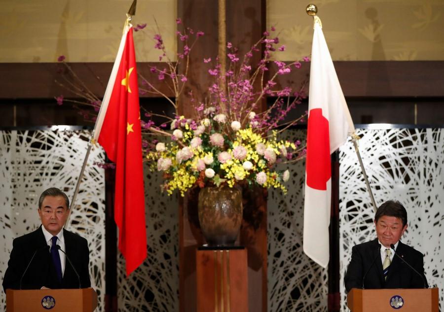 china japan