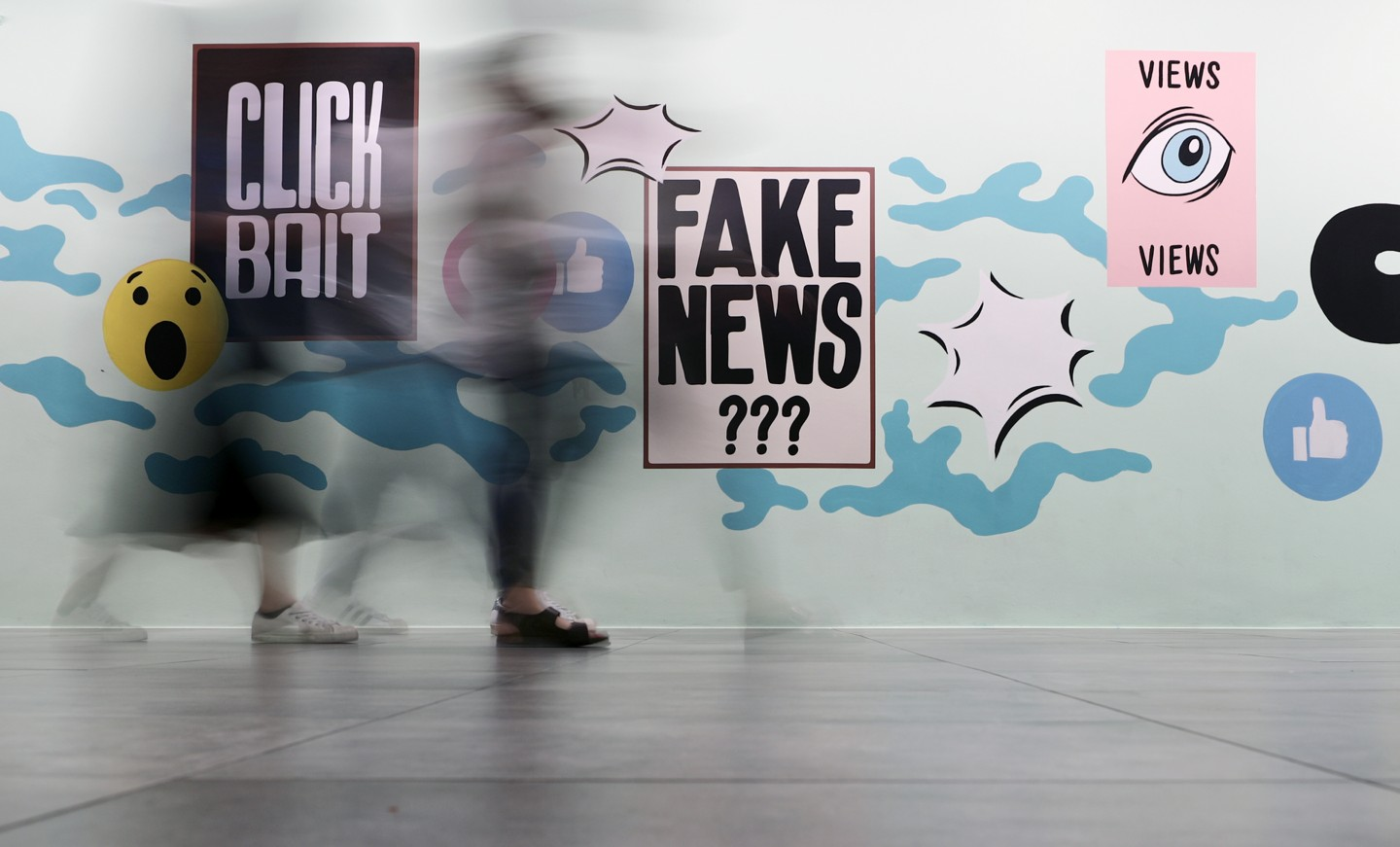 Fake news can be created by anyone. (SPH)