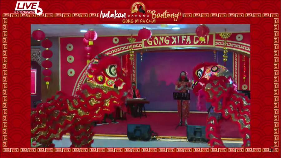 Performances at virtual celebration