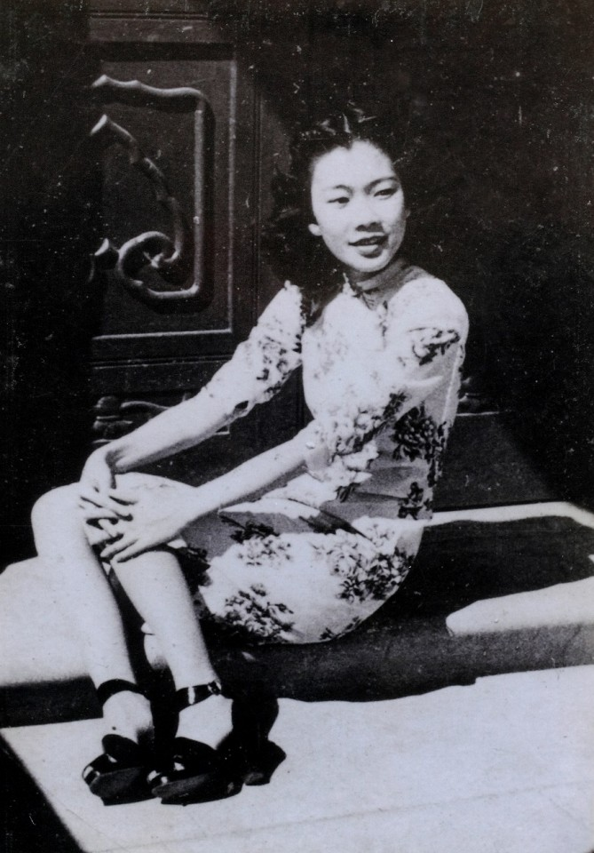 Florence Wong in her youth.