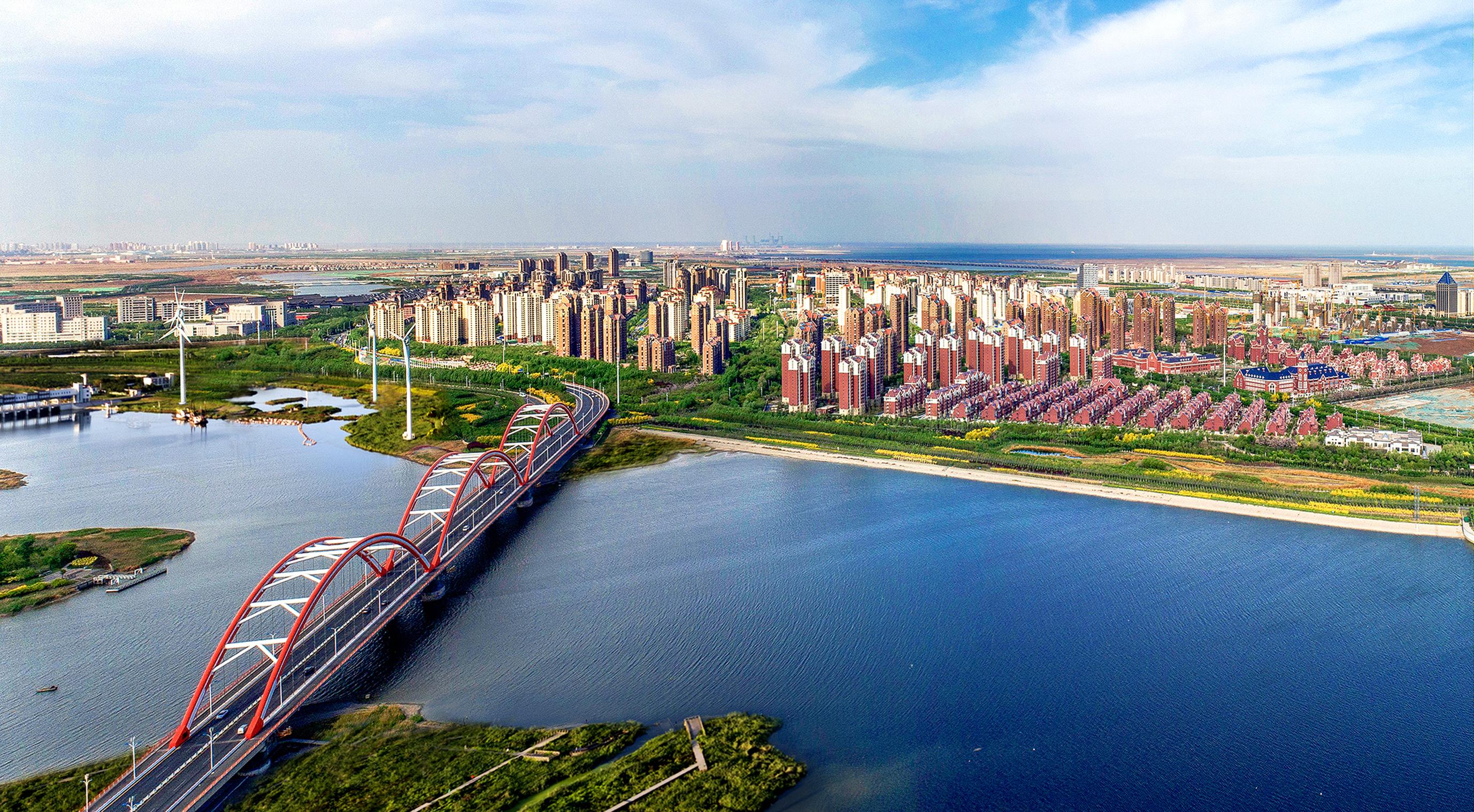 Sino-Singapore Tianjin Eco-city. (SPH)