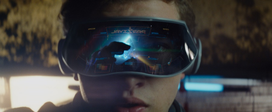 Cinema still: Ready Player One starring Tye Sheridan. (Warner Bros)