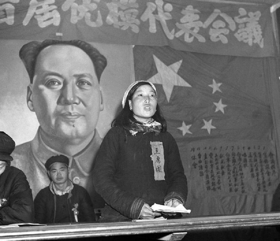 Shen Jilan, February 1953. (Wikimedia)