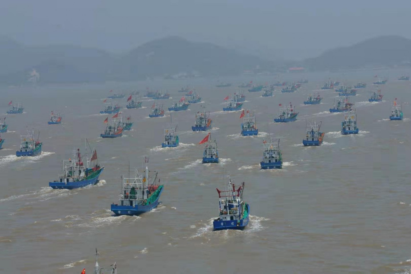 Shenjiamen fishing port. (Photo: Shu Jie, provided by Chen Nahui)