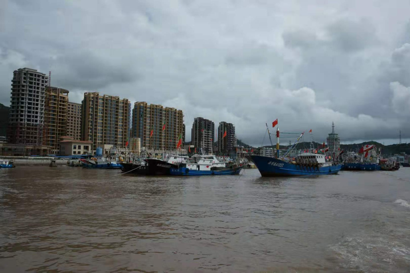 I would go to the Shenjiamen fishing port to look at docked ships and dried seafood. (Photo: Shu Jie, provided by Chen Nahui)