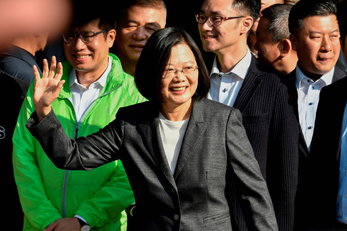 Incumbent Tsai Ing-wen won a second term during the 2020 Taiwan elections. (Sam Yeh/AFP)