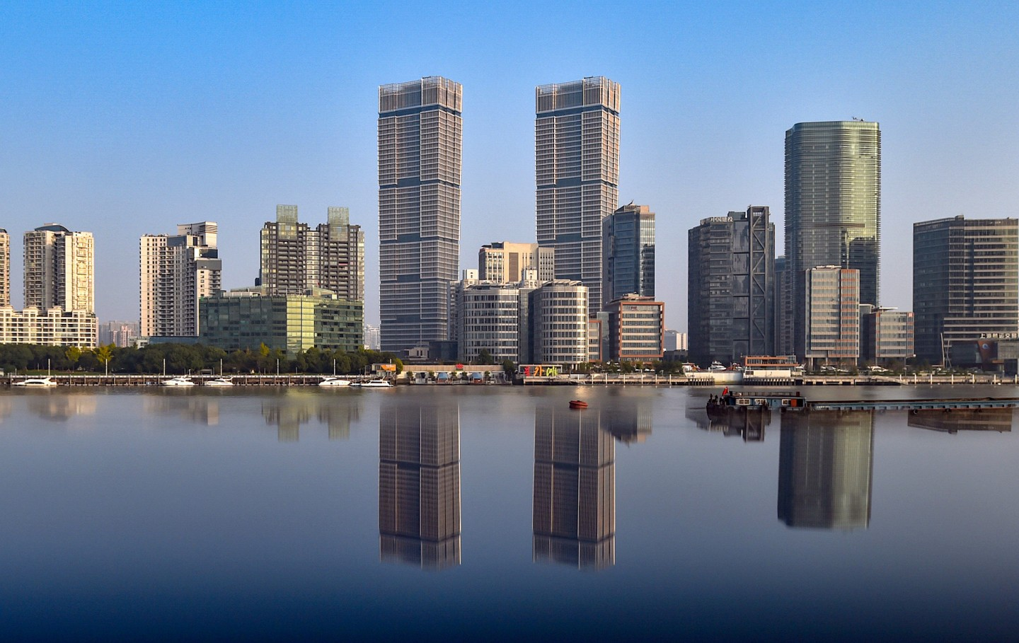 ASEAN's investments in China are on the rise: CapitaLand (a real eastate company in Singapore) acquired Shanghai's tallest twin towers through a 50:50 joint venture between GIC and Raffles City China Investment Partners III (RCCIP III) fund, which will become the Group's third Raffles City integrated development in Shanghai. (CapitaLand)