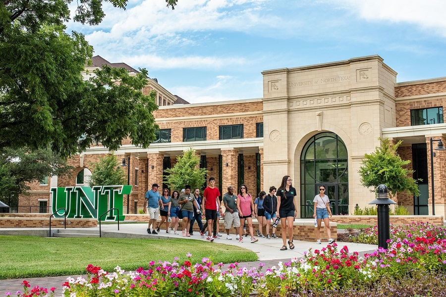 (University of North Texas Facebook page)